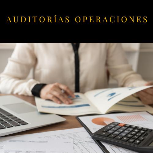 Auditoría de operaciones en Madrid